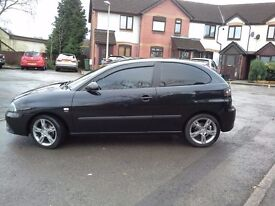 Seat Ibiza Sportrider 1.9 tdi. Mot august, fsh, new tyres and brakes. Upgraded headlights.