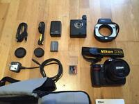 Nikon D300 Camera + Nikon Nikkor AF Micro 60mm 1:2.8 D + ring flash