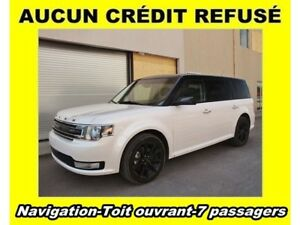 2017 Ford Flex SEL AWD *FULL* TOIT OUVRANT *NAV* 7 PASSAGERS
