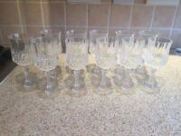 Sherry Glasses X11