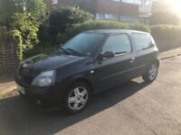 *** Black Renault Clio 1.2L Xtreme for Sale *** NICE RUN AROUND CAR