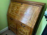 Inlaid bureau desk, ideal for home office