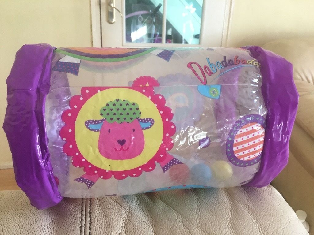 Babies inflatable plastic roller