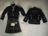 Kilt outfit for a 3 - 4 yr old boy