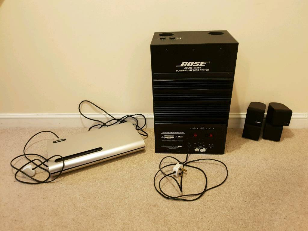Bose Acoustimass Speaker System And Lifestyle Music Centre In Wiring