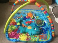 Baby Einstein gym ocean theme