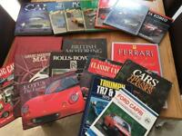 Box full of car books