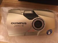 Olympus Mju ii - Brand new camera, boxed and never used.