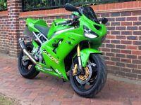Kawasaki ZX636 B1H 2003 Green New MOT Race-Fit Growler Exhaust