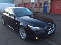 2007 BMW 520d M Sport Lci Fsh bargain read add might px(A3 a4 Leon golf Jetta Passat cc 320d 330d S3