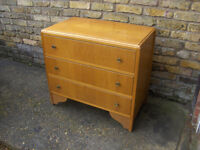 Chest of Drawers 1950s Retro / Vintage / Antique Furniture #FREE LOCAL DELIVERY#