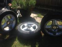 Ford Fiesta 13 inched wheels