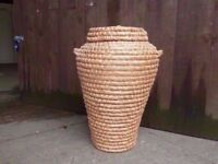 Wicker Clothes Basket Delivery Available