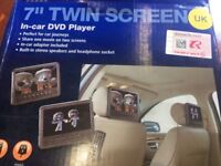 "DVD Twin In-car player 7"" T77PDVD"
