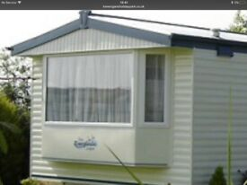 Holiday Caravan sited near Perranporth