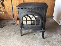 Gas fire with coal effect