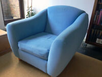 Armchair – bucket-style and supremely comfortable