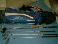 KIDS GOLF SET AND BAG
