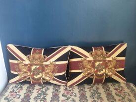 Union Jack cushions John Lewis