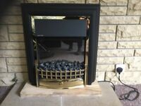 Electric fire. Just 2 years old, in perfect condition and in good working order..