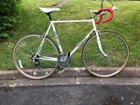 Vintage Raleigh Road Bike. 58 cm steel frame.