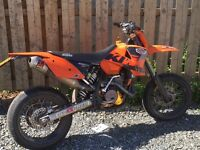 *** ktm 450 on road 2003 mot Feb swap px ***