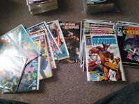 Marvel comics xmen and wolverine
