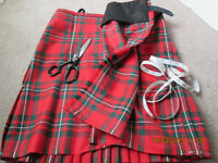 Professional kilt tai!or. Alterations and repairs from £25. New kilts from £300. Free estimate