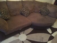 Fantastic condition in addition to sofas the rug will be given free