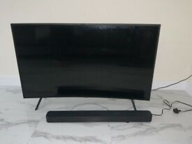 Samsung TV curved - PARTS