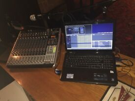 DJ/Karaoke equipment. All the professional equipment you need to start your own business.