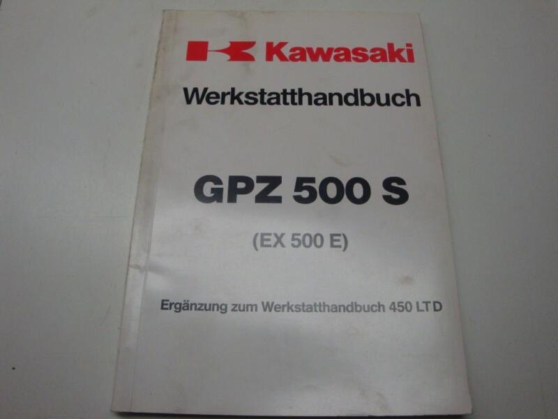 kawasaki gpz 500 s ex500e werkstatthandbuch in bayern regen ebay kleinanzeigen. Black Bedroom Furniture Sets. Home Design Ideas