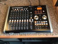 TASCAM DP-02 Digital Multitrack Portastudio 8 Track Recorder + Manual