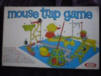 Vintage Mouse Trap Game from 60s