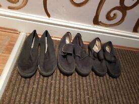 Boys school shoes 3 x shoe