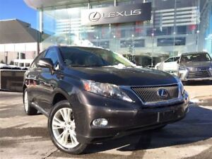 2010 Lexus RX 450H Touring Pkg AWD Navigation Backup Cam Sunroof