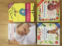 Pregnancy and baby feeding books