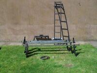 roof rack and ladder for transit van