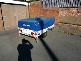 Conway trailer tent.