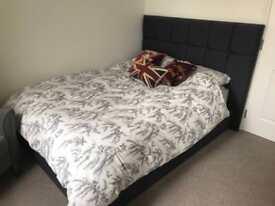 M&S Double Bed & Headboard