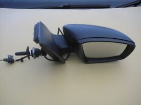 VW POLO MK8 DRIVER SIDE WING MIRROR 2009-2017