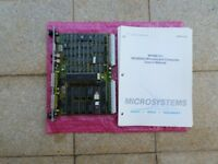 Motorola MVM-101 double height eurocard VME PCB Board with manual (used)