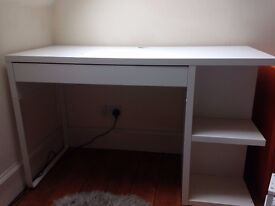 Beautiful desk, table and small shelves up for grabs - £50