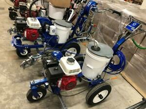 New Graco LineLazer 3400 Parking Lot Line Striping Machine In Stock Pick up or Ship Painting Paint Airless 3900 5900