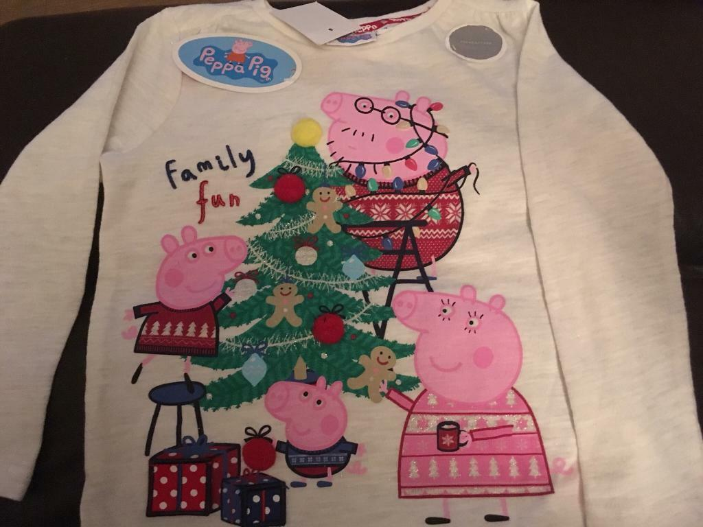 Brand New Peppa Pig Christmas Top 2 3 Years In Inverness