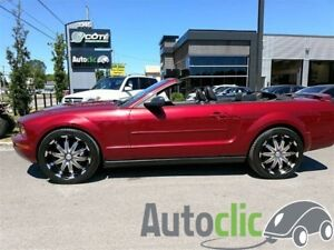 2005 Ford Mustang convertible 75280km