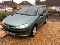 2002 Peugeot 206 1.1 Style