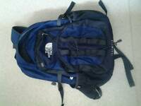 North Face rucksack / backpack