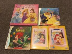 Disney books and DVDs