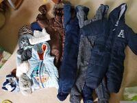 Baby boys winter clothes